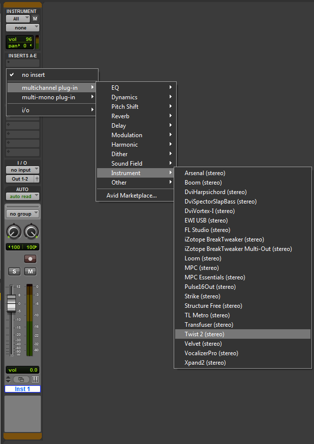 m audio oxygen series setup pro tools 5