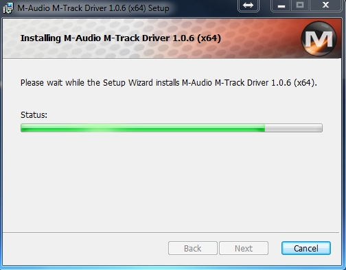 M Audio M Track Driver Windows 7 Download