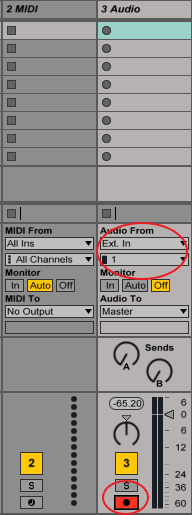 mtrackmkii ableton insetting