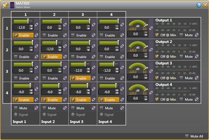 Halogen Matrix Mixer