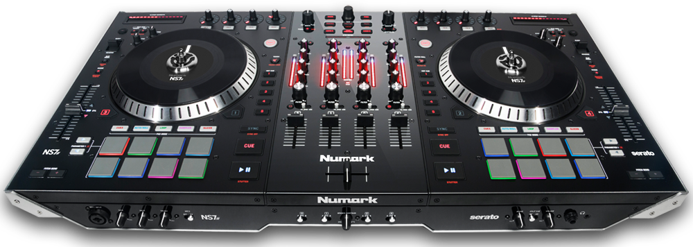 numark ns6 vs ns7