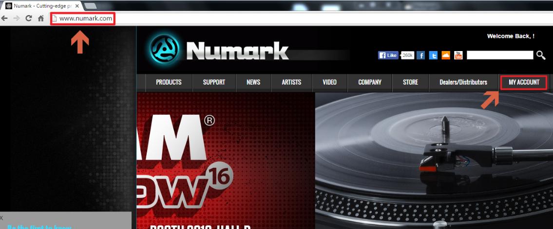 Numark Mixtrack3 SetupWin 1