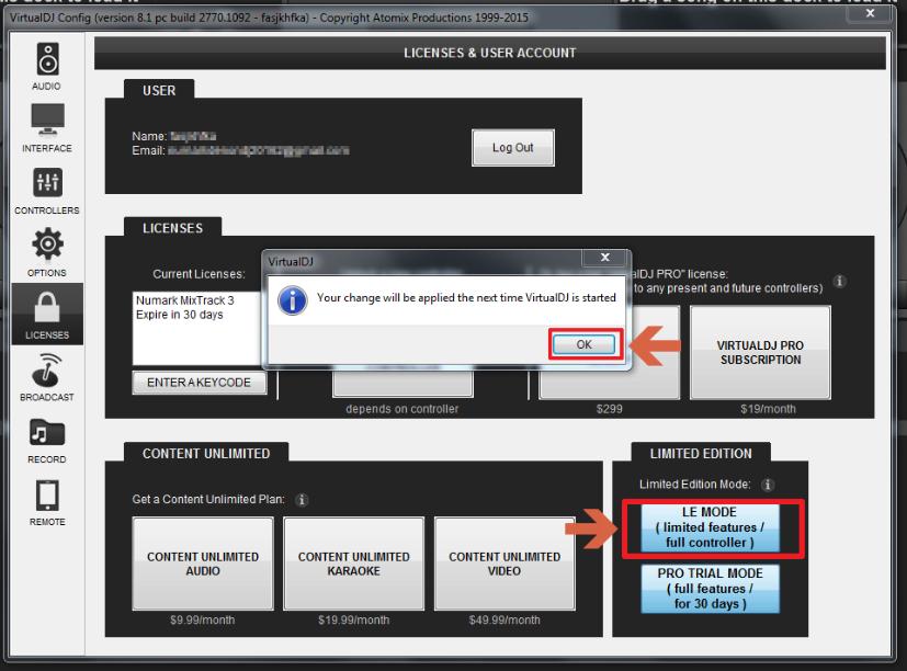 Numark Mixtrack3 SetupWin 16