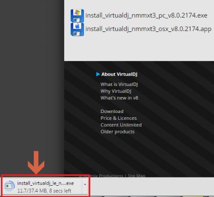 Numark Mixtrack3 SetupWin 8