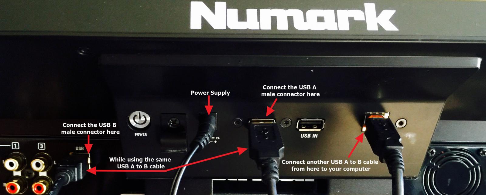 Numark NS7III display