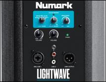 numark lightwave backpanel