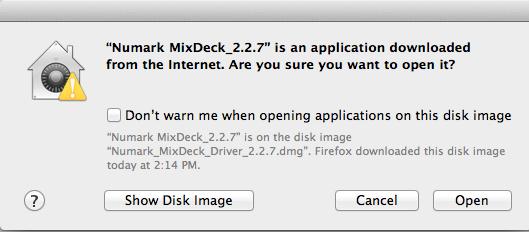 numark mixdeck driver instalation 3