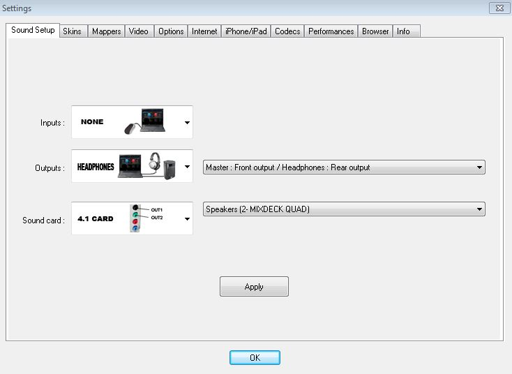 numark mixdeck quad Internal mixing with virtualdj 1