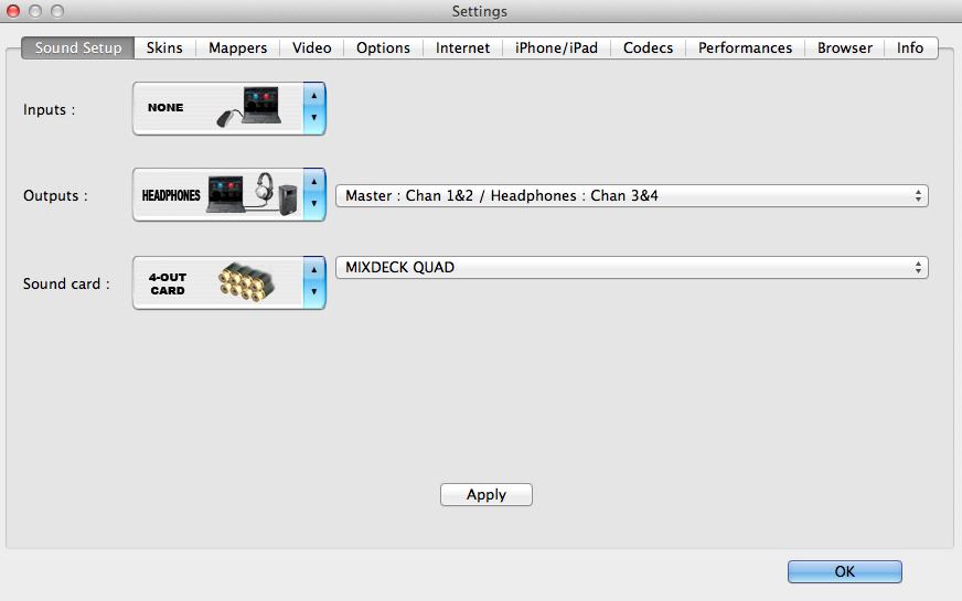 numark mixdeck quad Internal mixing with virtualdj 3