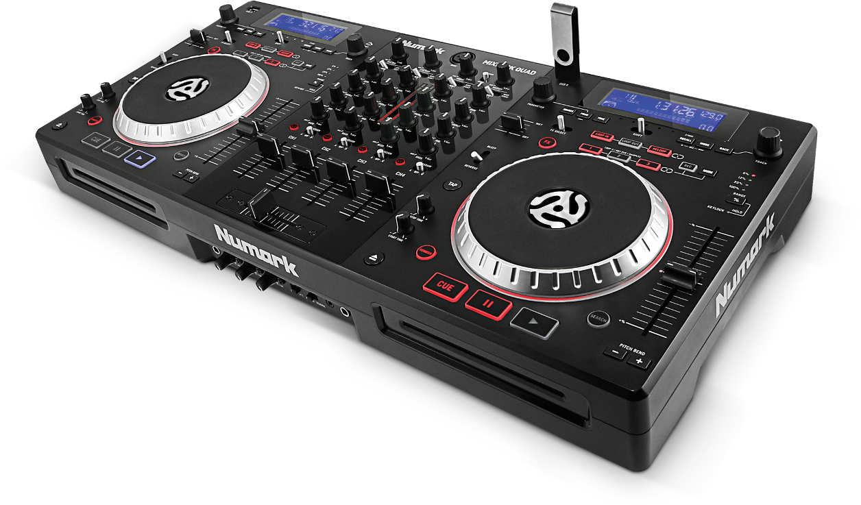 This guide covers common questions about the Numark MIXDECK QUAD. This  includes setup 261333111a2