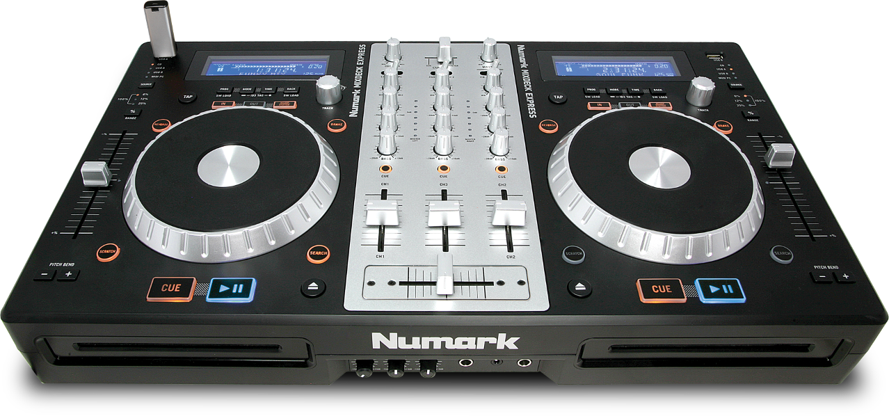 Numark Knowledge Base - Numark Mixdeck Express - Setup with