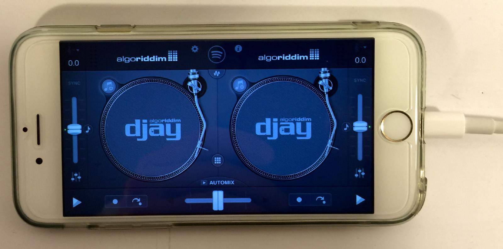 numark mixdeckquad iOS8 launchapp