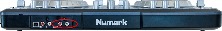 numark mixtrack pro rear output1