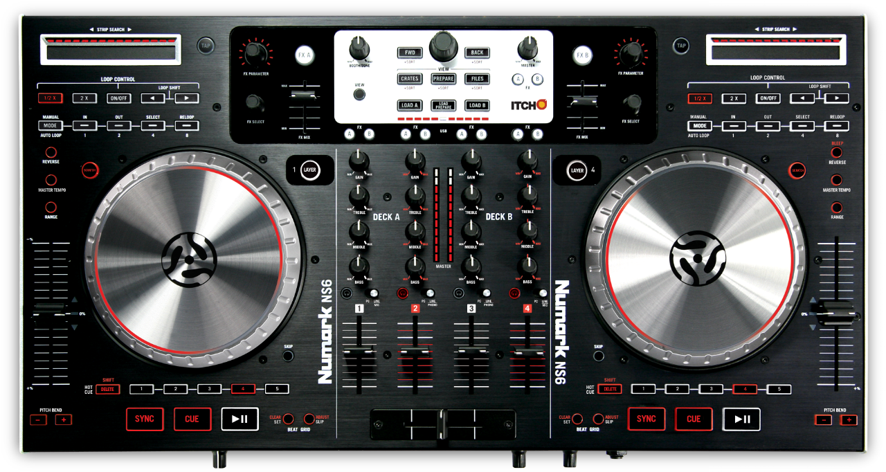 numark ns6 main