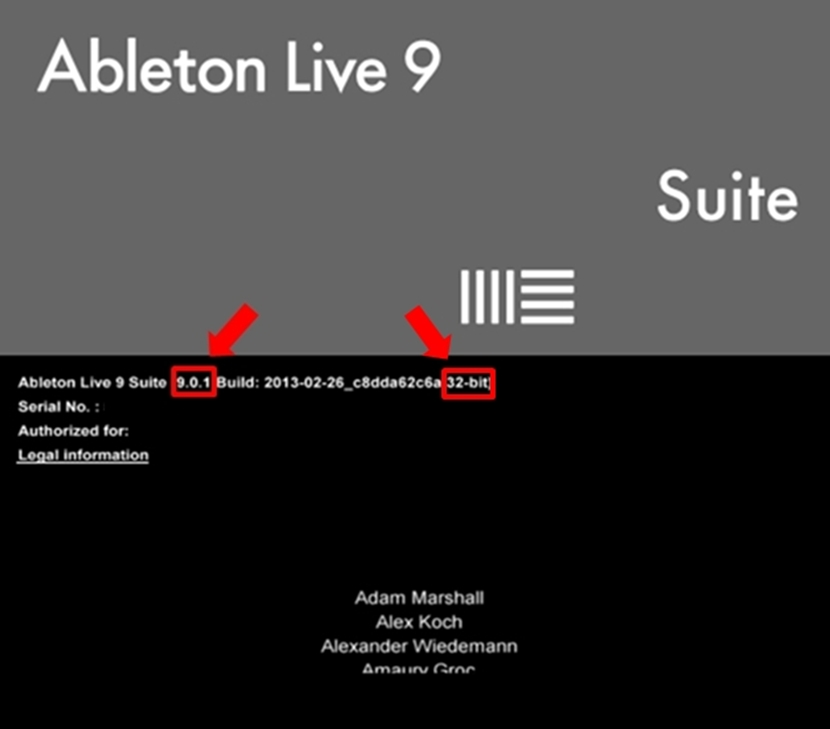ableton version screenshot 9