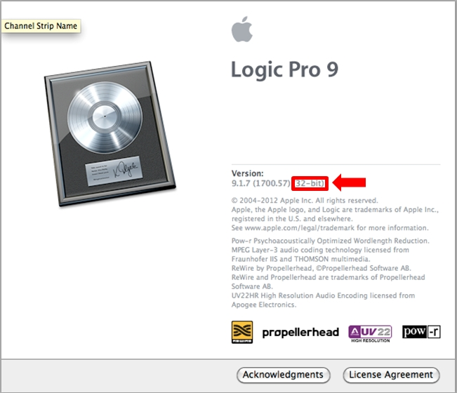 Logic - which version 32bit