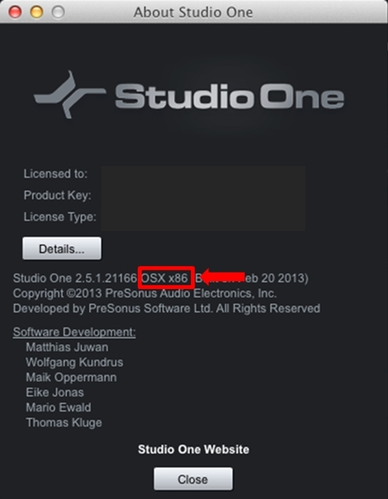 Mac About StudioOne1