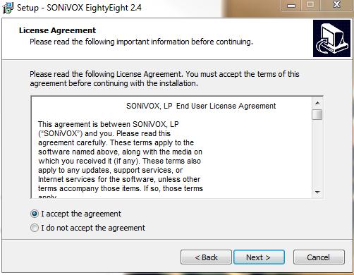 sonivox eightyeight agree