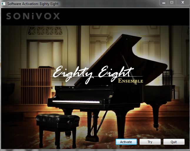 sonivox eightyeight authpage