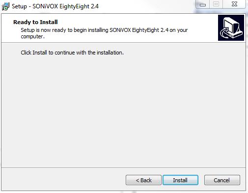 sonivox eightyeight install
