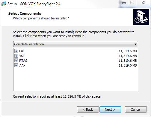 sonivox eightyeight type